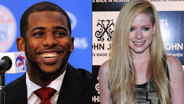 Chris Paul & Avril Lavigne