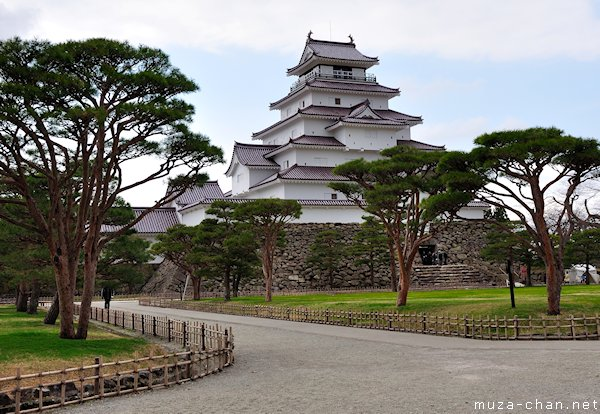 Kastil Aizu, Tusuga-jo