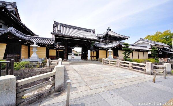 Gerbang utama Nishi Hongan-ji, Kyoto