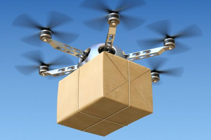 drone-delivery-pesan-antar-drone