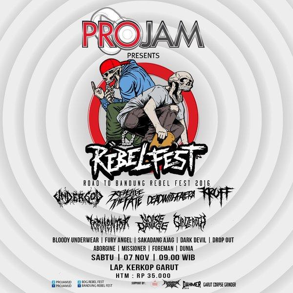 road to bandung rebelfest 2015 - garut