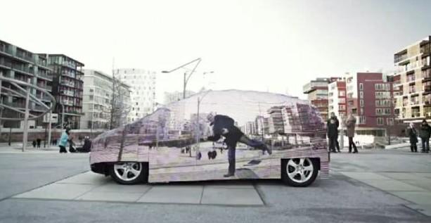 mobil tembus pandang