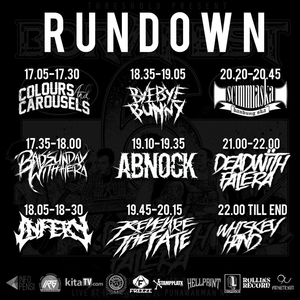 rundown borafest 6 kitatv