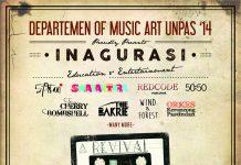 Poster Inagurasi REVIVAL HIMA Seni Musik Unpas 2016