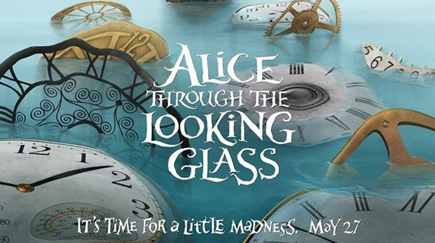 poster film Alice Through The Looking Glass