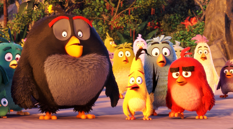 poster film Angry Birds movies