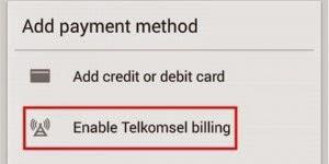 Cara Membeli Game Android Premium Dengan Pulsa - langkah 3