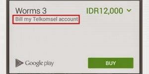 Cara Membeli Game Android Premium Dengan Pulsa - langkah 6