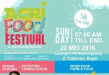 poster agriculture food festival ipb