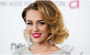Model Rambut Keriting Ala Curly Miley Cyrus