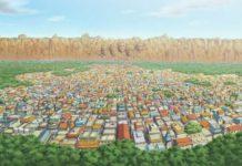desa konoha - konohagakure di manga dan anime naruto