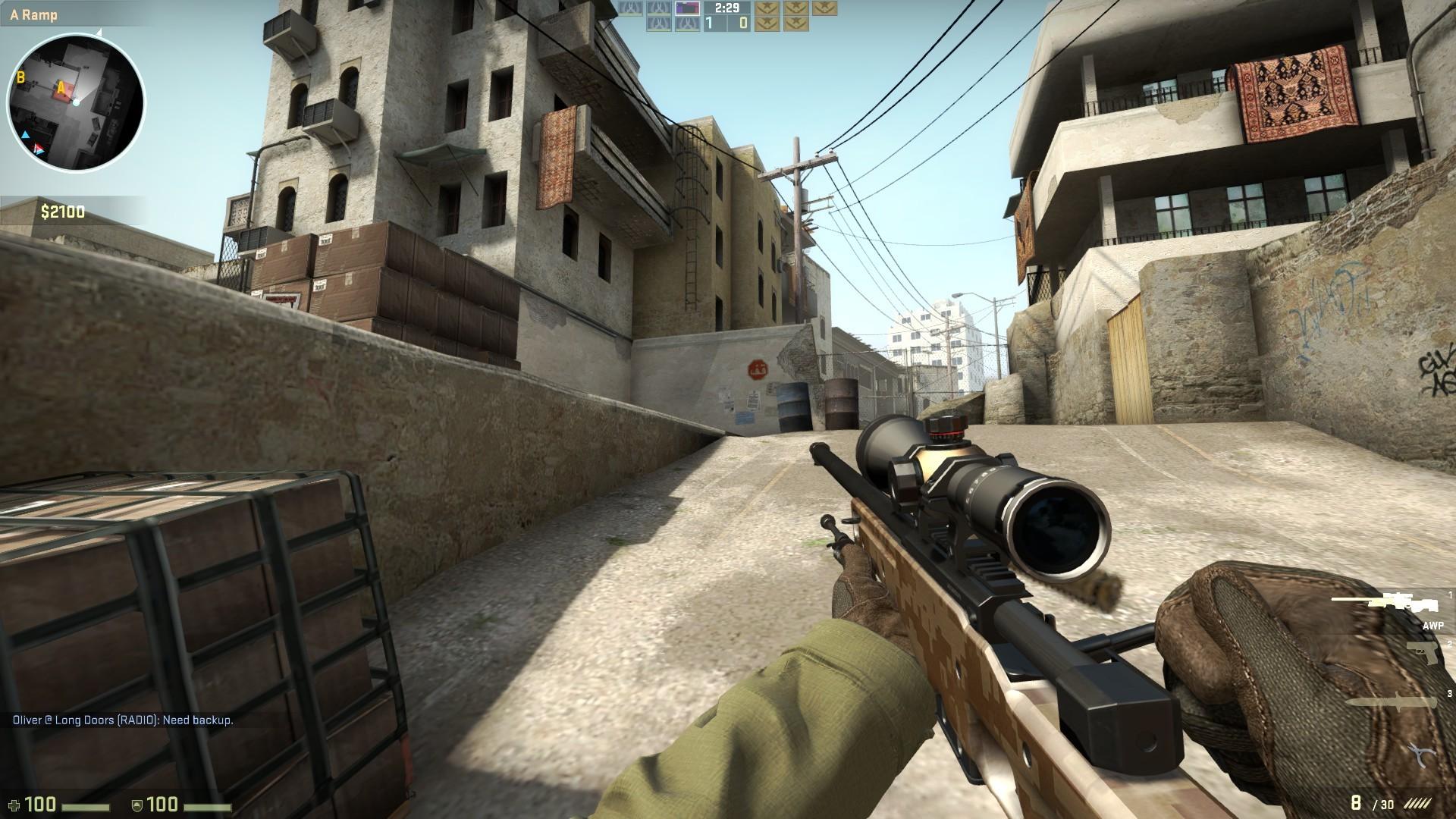 game pc perang terbaik cs go