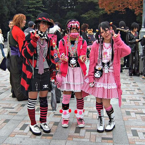 street fashion jepang yang keren - decora street fashion