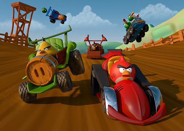 Angry Birds Go juga merupakan game balap Android buatan Rovio bisa memacu adrenalin dengan karakter lucu