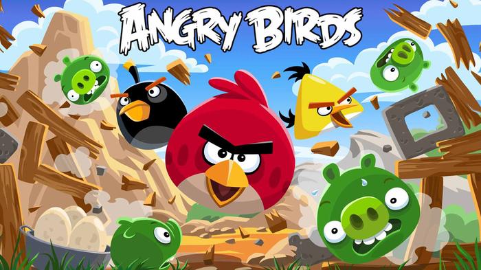 Angry Birds dari Rovio adalah game Android terlaris yang patut untuk dicoba