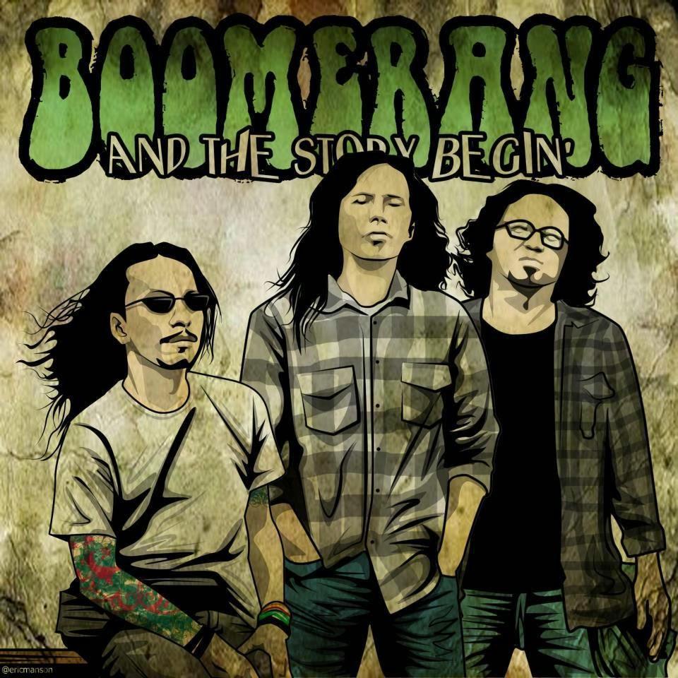 BOOMERANG juga salah satu legenda band rock tanah air dengan banyak mahakarya lagu sampai sekarang