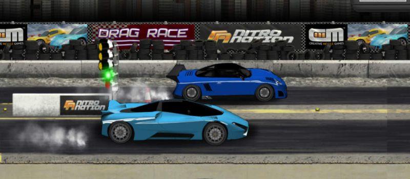 Drag Racing Classic salah satu game balap Android yang memacu Adrenalin