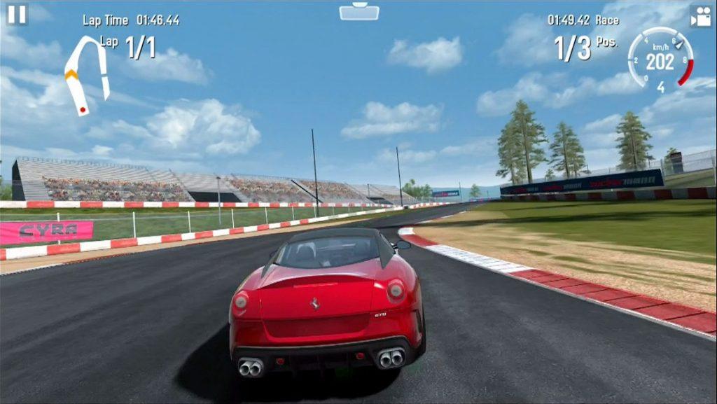 GT Racing 2 merupakan game balap android yang bisa memacu adrenalinsaat memainkannya