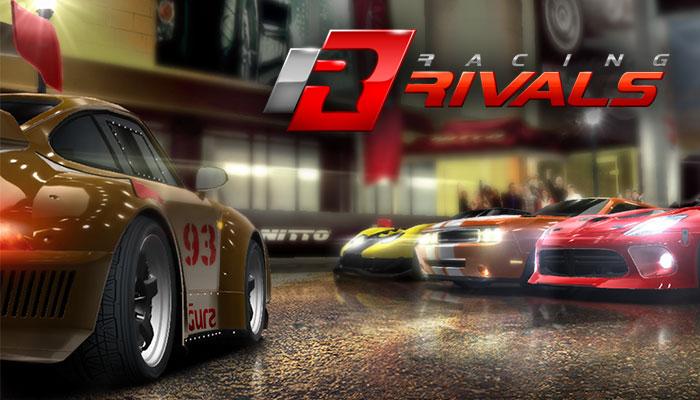 Racing Rivals juga merupakan game balap Android yang memacu adrenalin