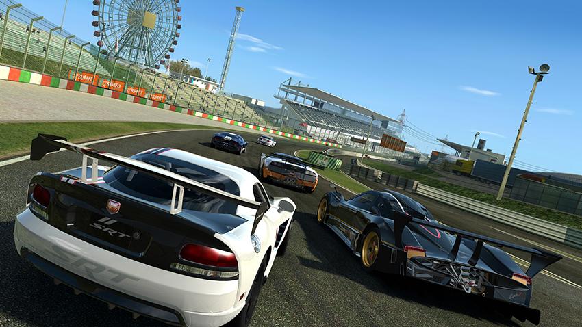 Real Racing 3 adalah salah satu game bala android yang memiliki tampilan seperti nyata