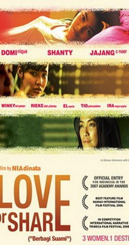 Berbagi Suami atau Love for Share Menjadi Salah Satu 5 Film Indonesia yang Mendunia