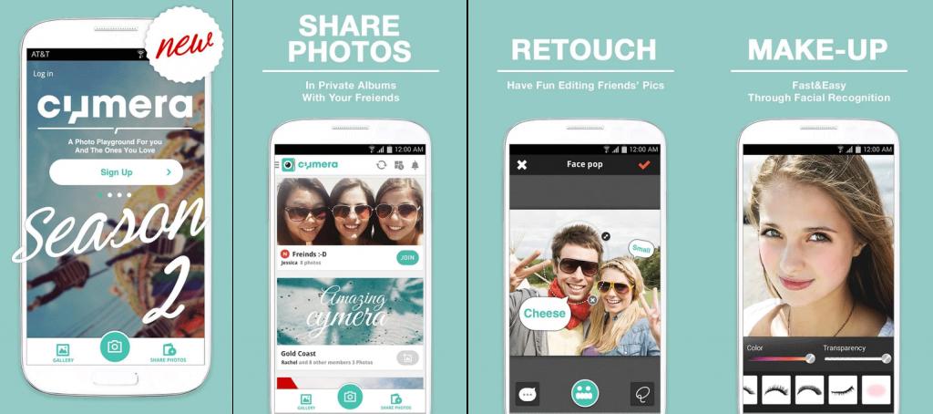 Cymera Menjadi Salah Satu 5 Aplikasi Edit Foto Terbaik untuk Handphone Android
