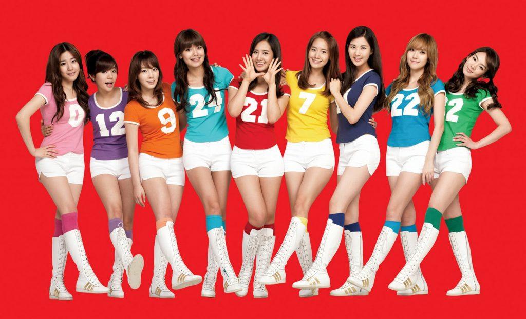 Kecantikan dan kekompakan para personel snsd khas korea