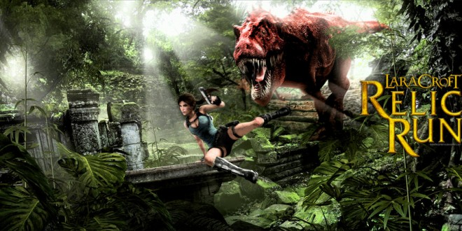 Lara croft relic run game running terseru 2016