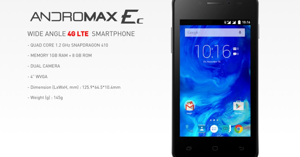 Smartfren Andromax Ec Salah Satu 5 HP Android Murah dengan Kualitas 4G LTE
