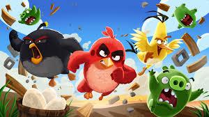game angry birds produksi dari rovio ini sangat digemari banyak orang terutama anak-anak