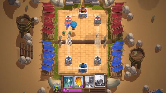 game clash royale sebagai pesaing dan pengganti game COC