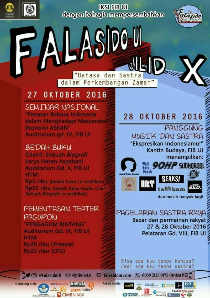 Event FALASIDO UI Jilid X | KitaTV.com