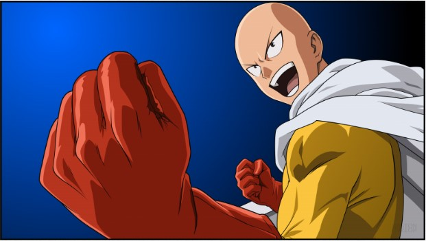 Bentuk Karakter One Punch Man