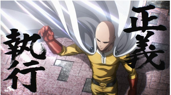 Persamaan serial One Punch Man dengan parody anime