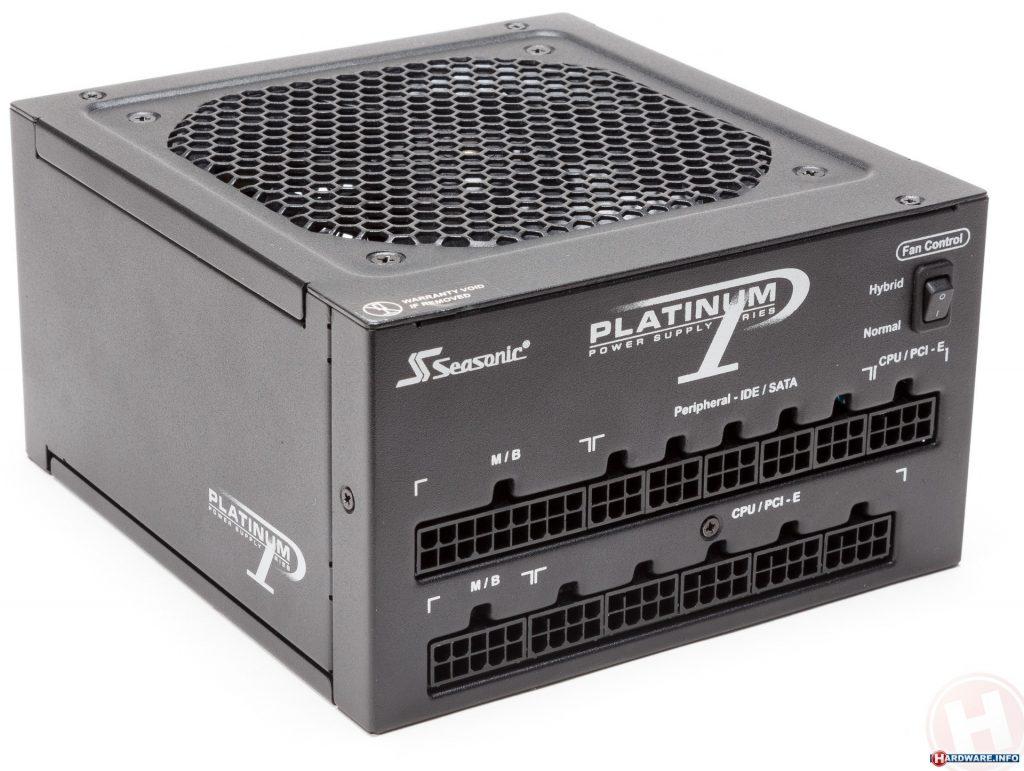 Seasonic platinum series yang termasuk 5 power supply terbaik dunia