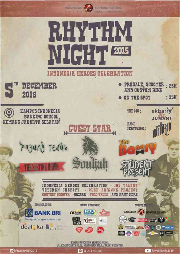 poster ibs rhythm night 2015