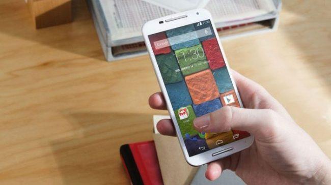 Smartphone Musik Terbaik moto x4