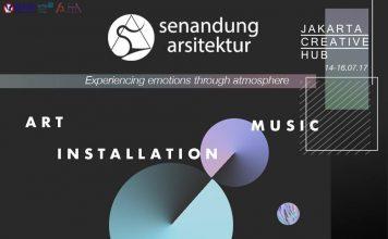 poster promo event senandung arsitektur senar uph 2017
