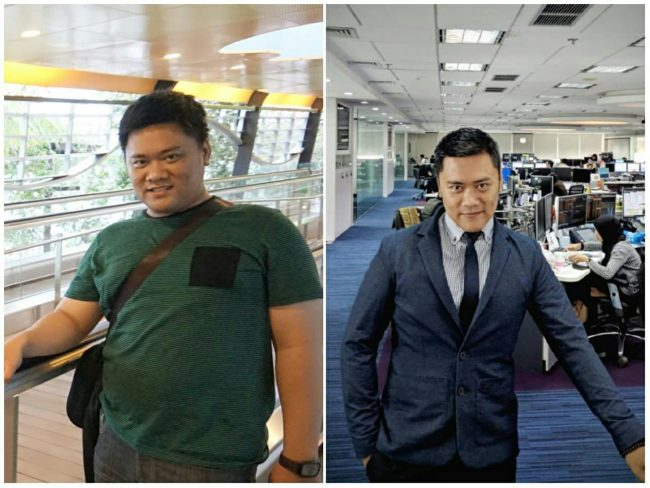 foto coach reza wahyu ismail - before after