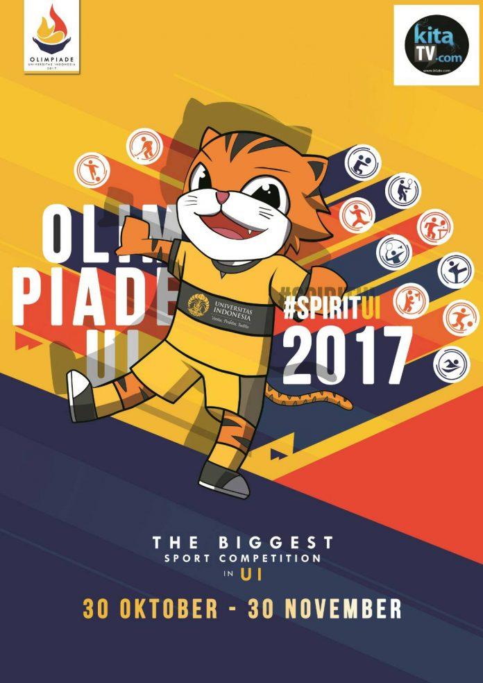 poster event Olimpiade UI 2017