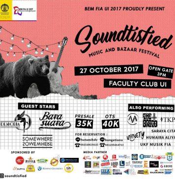 poster promo Soundtisfied UI 2017