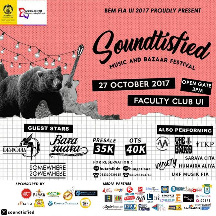 poster promo Soundtisfied UI 2017
