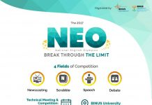 poster promo event neo 2017