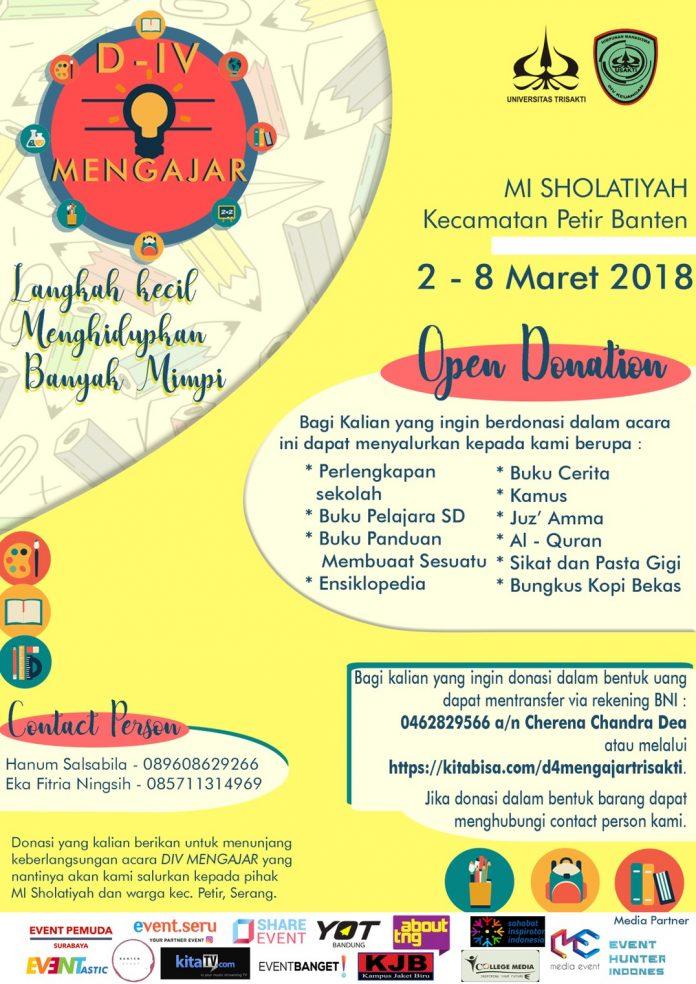 Event D4 Mengajar Trisakti 2018