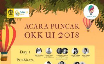 Poster promo event OKK UI 2018