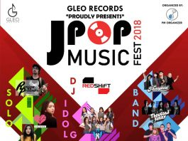 poster promo event j-pop music festival 2018
