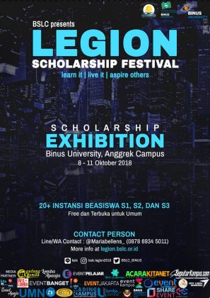 poster promo event legion 2018-3