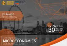 poster promo event 4th microeconomics competition 2018