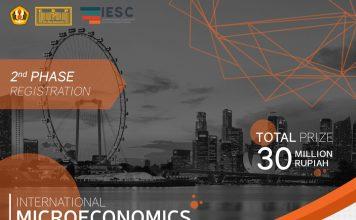 poster promo event 4th microeconomics competition 2018