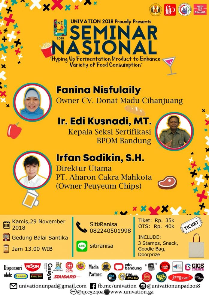 event seminar nasional univation 2018